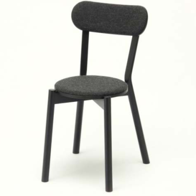 Castor Chair Pad black