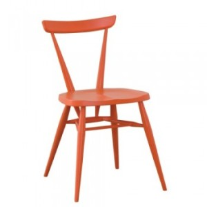 ercol Stacking Chair Mandarin