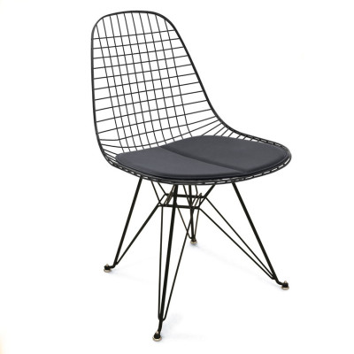 Wire Chair Black 02