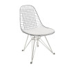 Wire Chair White 02