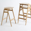 ercol 1663 Stacking Barstool 01