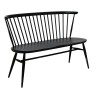 ercol 450 Love Seat Black