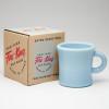 C Handle Mug Blue 05