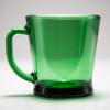 D Handle Mug Green 透 02