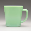 D Handle Mug Green 01