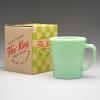 D Handle Mug Green 05