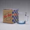 D Handle Mug  T blue 05