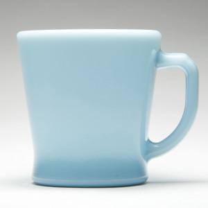 D Handle Mug blue 01