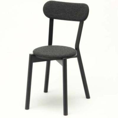 Castor Chair Pad black